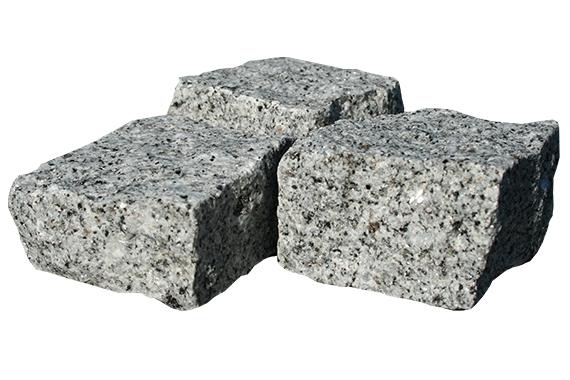 pavés granit gris alba