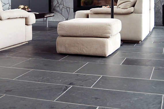 Dallage Black Slate